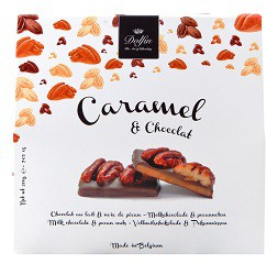 Caramel et Chocolat, mliečna čokoláda a pekanové orechy